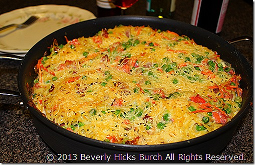 Spaghetti Pie, by Beverly Hicks Burch